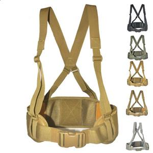 Molle Convenient Tactical Gürtel Jagd 600D Nylon Herren Armee Gürtel Weste einstellbare Soft Padded Protect Taille