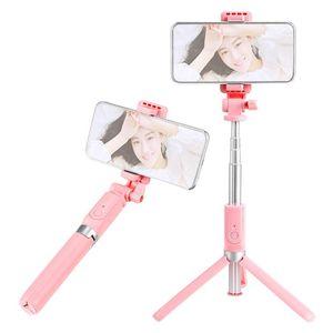 Selfie Stick Stated Stand и держатель телефона многофункциональный мобильный телефон стержень Selfe Device Extended Smartphone штатив с пультом BT