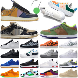aj1 retro 1s 1 basketball shoe jumpman 1s 1 hommes chaussures de basket-ball en plein air femmes formateurs Tie Dye Chicago numérique rose hommes femmes sport baskets