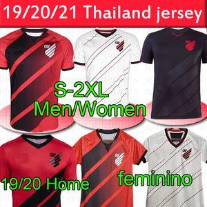 Tailandesa Atlético Paranaense Fútbol 2020 21 casa los hombres rojos de distancia blanco Hombres MUJERES Masculino Feminino camisetas de calidad superior