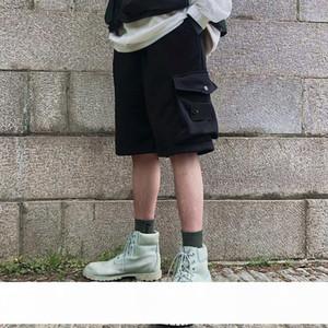 Fashion Mens Stylist Shorts High Quality Casual Pants Beach Pants Summer Mens Stylist Shorts Black Gray