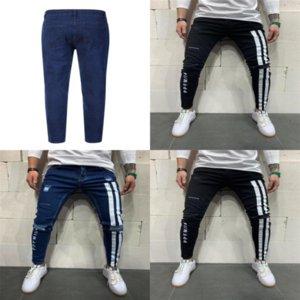 BRG Streetwear Azul Masculino Hombres Jeans Negro Coreano Fashions Harem Best Casl Jeans Pantalones Jeans Cremallera Denim