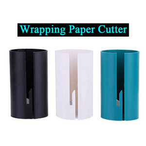 Wrapping Paper Clamps Wrapping Paper Cutter Tool for Christmas Gift Wrapping Paper Roll Cutting Slicer Cutter Cuts the Every Prefect Line