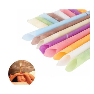 High Quality Aromatherapy Indian Theraphy Ear Candle Health Care Beauty Product Trumpet Cone Ear Candles 10 sqcECk bdenet