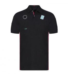 F1 Stagione Cycling Racing Suit T-Shirt Estate risvolto Polo Shirt Moto Abbigliamento Abbigliamento Abbigliamento Abbigliamento Auto Ventilatore a maniche corte Titolo personalizzato