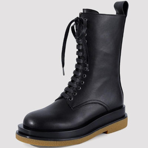 GIGIFOX Genuine Leather 2020 IG Hot Sale Brand Design Top Quality Cow Skin Motorcycles Boots Female Shoes Women