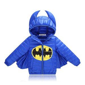 BOTEZAI Mode automne Vestes d'hiver Garçons Batman enfants chaud vêtements d'extérieur pour les filles Veste Manteau Vêtements enfants C1012