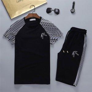 2021 Mens Beach Tasarımcı Eşofman Yaz Moda Seaside Tatil Gömlek Şort Setleri Kıyafetler