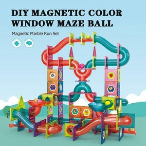 disc sphere window color Magnetic sheet Montessori Early Education building block multifunctional children's toy