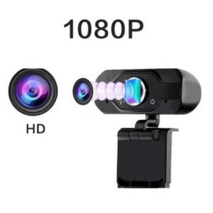 Novo HD Webcam embutida dupla Mics inteligente 1080P Web Camera USB Pro Fluxo Camera for Desktop Laptops PC Game Cam Para SO Windows
