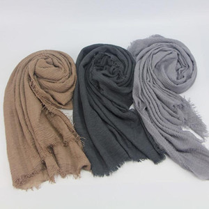 35 Colors Hot Pashmina Cashmere Solid Shawl Wrap Women's Girls Ladies Scarf Soft Fringes Solid Scarf