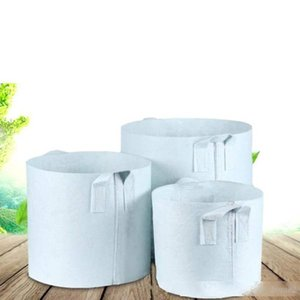 Non-Woven Fabric Reusable Soft-Sided Highly Breathable Grow Pots Planting Bag With Handles Large Flower Planter 10 Size