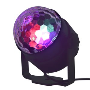 15 color LED crystal small magic ball light mini stage light,Can be used for weddings, birthday parties, Christmas