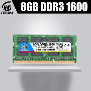 VEINEDA Memoria ram DDR3 8gb 1600MHZ ram-memoria-ddr3 1333Mhz For all Intel AMD compatible with Sodimm ddr3 8gb pc3-12800 204pin