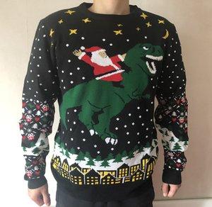 Pareja caliente de la venta unisex tejido suelto encargo puente navidad diseñador jersey jersey de navidad fea