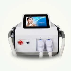 2020 newest portable 2 handles ipl hair removal painless ipl hair removal machine for beauty salon