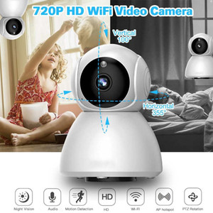 HD 720P IP Camera Wireless Cloud IP Intelligent Auto Tracking Human Home Security camera Surveillance Wifi CCTV