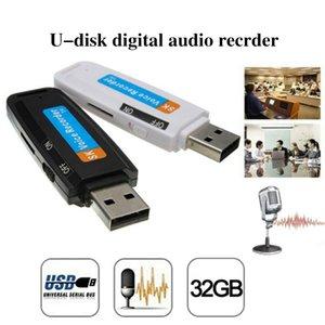 1PC El más reciente USB Mini U-Disco de Audio Digital Voice Recorder Pen 2.0 Flash Drive U disco pluma de audio grabadora de voz