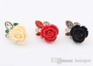 Серьги для женщин Мода Красиво серьги Шпильки пакет обручального кольца Оптовая Vintage Rose Стад серьги