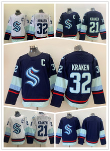 Seattle Kraken 32 Kraken Hockey Jerseys Baskets Best Sports 21 Kraken Dropshipping accepté Yakuda Best Sports Grossiste en ligne