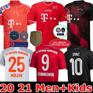 HOMEM E KIDS 19 20 Blackout Futebol Jersey 20/21 Sports Top Homens de manga curta roupas de corrida T-shirt Casual