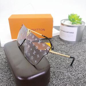 Luxury MILLIONAIRE Sunglasses for men full frame Vintage designer sunglasses for men Shiny Gold Logo Hot sell Gold plated Top