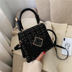 Fashion Retro Women Mini Handbag 2020 New Plaid Messenger Bag Lady Small Shoulder Bags Woman Handbag and Purses high quality
