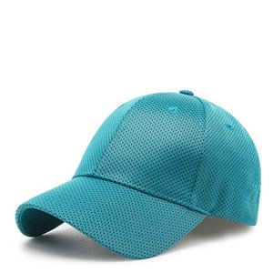 2018 Solid Summer Baseball Cap Men Snapback Women Quick Dry Mesh Cap Breathable Sun Hat Bone Masculino Trucker Cap H wmtsBB