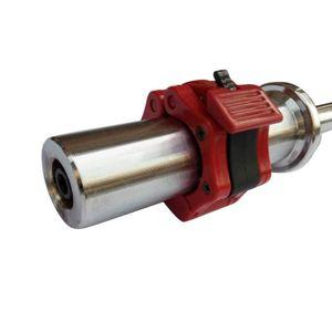 2pc Barbell clip Haltérophilie Barbell plaque collier de verrouillage clip Safety Training Haltérophilie Fitness Training Accessoires Durable