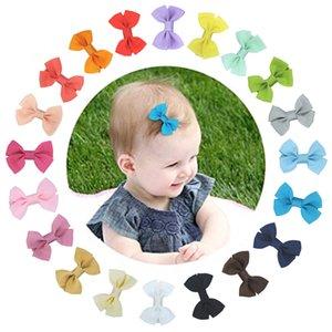 Детские аксессуары для волос 2020 Нового прибытия Handmade Nylon Ribbon Детской Шпильки Симпатичного Лук Ль Хайбин клип