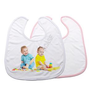 열전 사 프레스 머신 스카프 타액 수건 트림 직물의 D102905을위한 패션 DIY 열 승화 빈 아기 턱받이 손수건