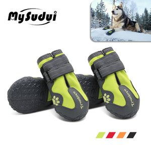 TrueLove Водонепроницаемые ботинки для собак для собак Зимний Летний дождь Снег Собака сапоги кроссовки обувь для больших собак Husky Outdoor BUTY Dla Пса LJ201006