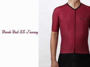 2020 Pimmer newest short sleeve cycling jersey cycling wear Italy fabric with best quality finish red and gray free shipping