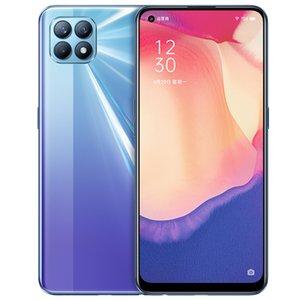Оригинал Оппо Рено 4 SE 5G Мобильный телефон 8GB RAM 128GB 256GB диск МТК 720 окта Ядро Android-6,43 дюйма 48MP А.И. Лицо ID отпечатков пальцев сотовый телефон