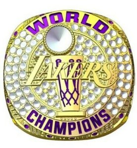 Großhandel 1985-2020 Lakers Meisterschaft Ringe Fan-Mann-Geschenk Großhandel Drop Shipping