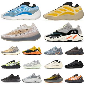 Kanye West Yeezy Boost 700 v3 Stock x scarpe da donna uomo di design di lusso Azael Alvah Alien Mist yezzy wave runner 700 v2 MNVN Carbon Blue Sneakers Trainer Running Shoes