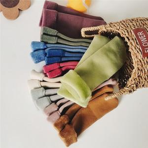 EnkeliBB Super Warm Kids Winter Fleeced Socks 4 pcs lot Baby Boys Girls Winter Floor Sock C1226