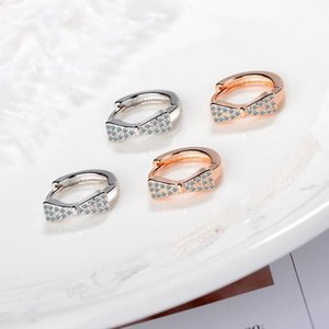 Everoyal Charm Crystal Rose Gold Earrings For Women Jewelry Trendy Earrings Female Valentine's Day
