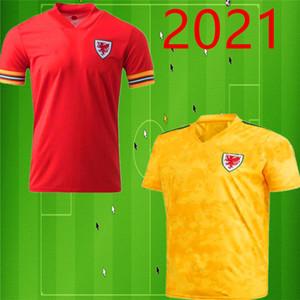 2020 2021 Gales del fútbol Jersey Camisetas BALA ALLEN James Wilson Ben Davies casa roja lejos camisetas de fútbol maillot camisetas