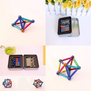 4kQ Buck bead star decompression toys Puzzle bar magnetic buckyball ball magic puzzle cheap eight mark decompression