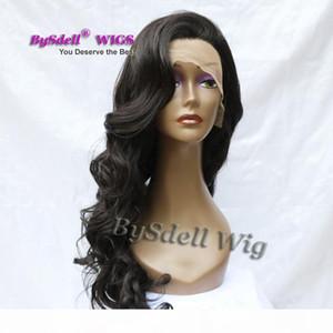 Hot Chic Couture Custom Custom Tain Pailly Peath Primply Pichough Prage Fright Высшее качество Синтетический шнурок передний парик для черной белой бело-женщины