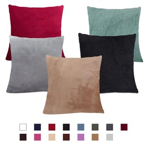2 pieces Plush Cushion Cover for Sofa Pillowcases Cushion Covers Decorative 45*45cm Couch Covers Livingroom Pillow Case