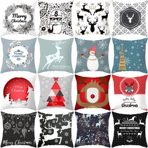 Nordic animal leisure pillow national style deer pillow decoration sofa chair Decoration Christmas car decoration pillow