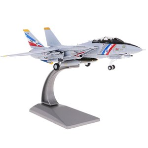 Diecast Airplane 1:100 American F-14 Metal 7.5 inches Plane Model Office Decoration