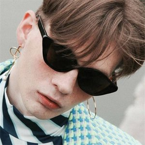 Judy Designer Men Glasses Hip Retro White Frame Brand Women Cat Sunglasses Eye Luxury Hop Cateye Leonlion Sun tsetSRW whole2019
