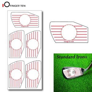 New Professional Golf Swing Training Aid Impact Tape Labels Stickers for Irons Ball Hitting Board Combo Recorder Practice