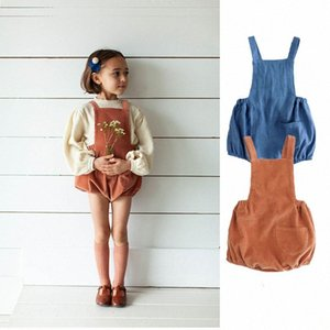 Soor Ploom Toddler Girl Bloomers Little Boys Beautiful Corduroy Overalls High Quality Euripean Style Baby Sling Overall Bloomer xQXc#