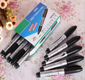 Waterproof Black Permanent Oil-based Paint Marker Pen For Wood Plastic Whiteboard Glass Office School Supplies jllpip dayupshop