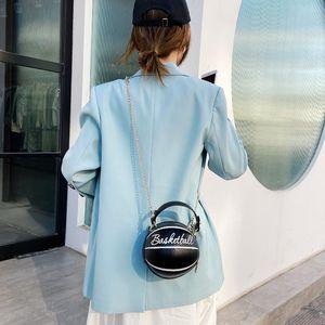 2020 New Personalized Handbag Tide Korean Chain Shoulder Bag Messenger Bag Online Celebrity With Basketball Women's