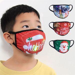 Christmas Luminous Kids Mask 15 Colors Changing Glowing LED Face Mask for Masquerade Cartoon Printed Led Lights Christmas Child Masks